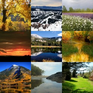 Landscapes Wallpapers Pack #1