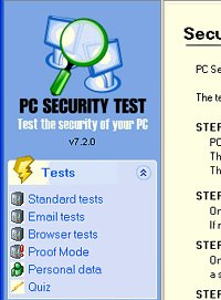 PC Security Test 2007 7.2.0