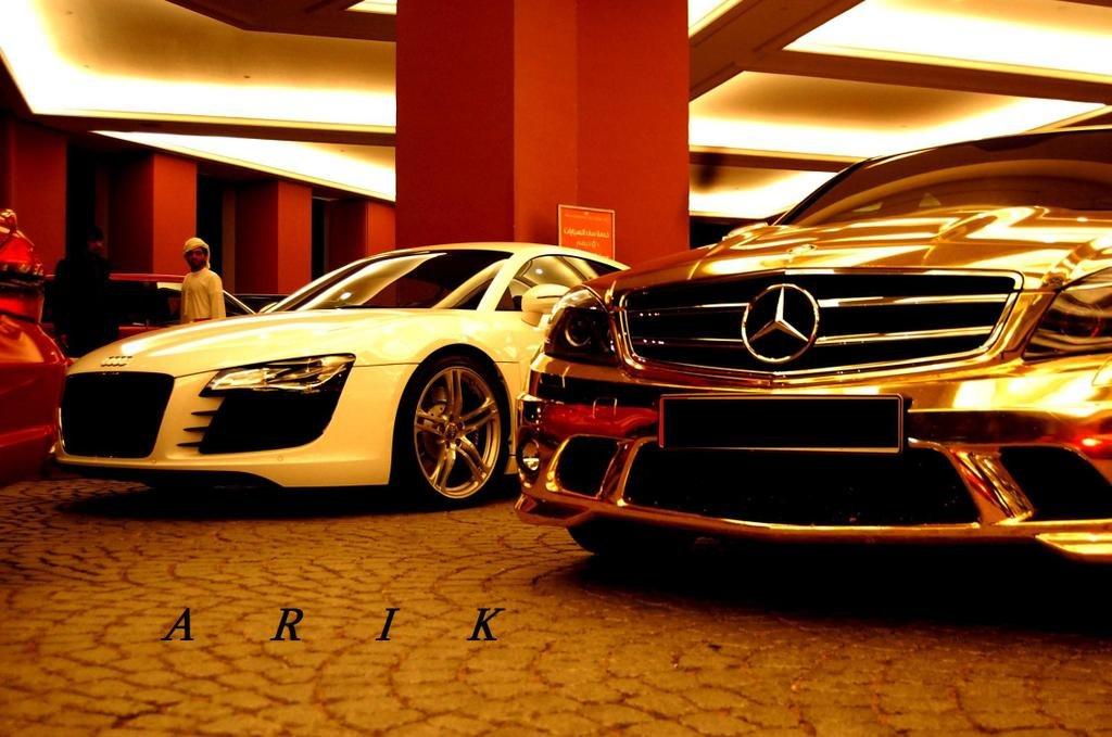 Gold Mercedes (10 фото) « …