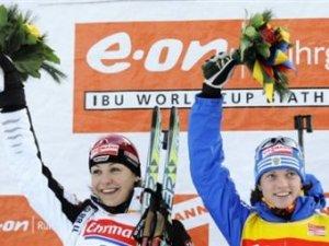 Магдалена Нойнер выиграла золото на этапе Кубка мира по биатлону