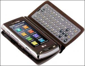 LG Versa: мобильный телефон со съемной клавиатурой
