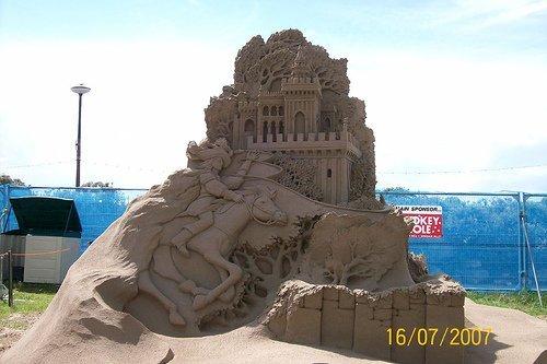 Стих вот замок из песка