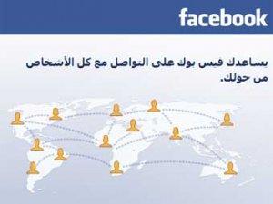 Facebook перевели на арабский и иврит