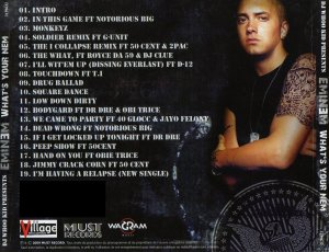 Eminem - What's your nem (MIXTAPE)