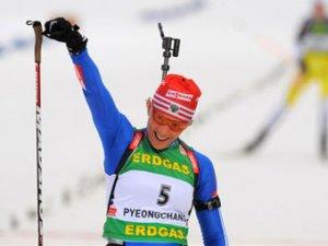 Ольга Зайцева выиграла гонку этапа Кубка мира