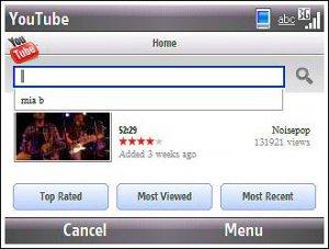 Появился клиент для работы с YouTube при помощи коммуникаторов