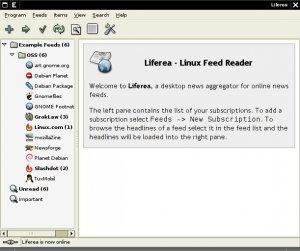 Liferea 1.5.15