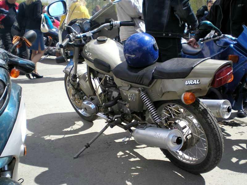 Тюнинг мотоциклов урал своими руками фото