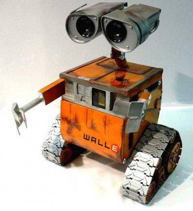 Моддинг корпус - Робот Валл-и (110 фото)
