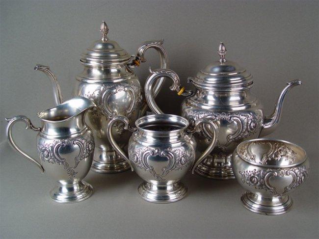 Столовое серебро хлебников