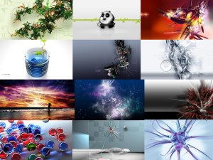 3D Wallpapers Pack Part 4
