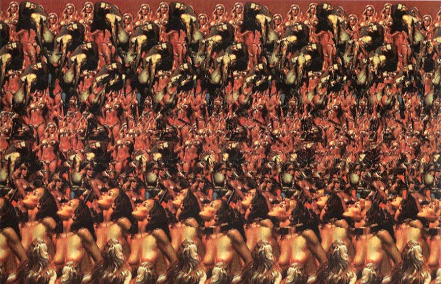 Стереокартинки обнаженных женщин фото 163-688