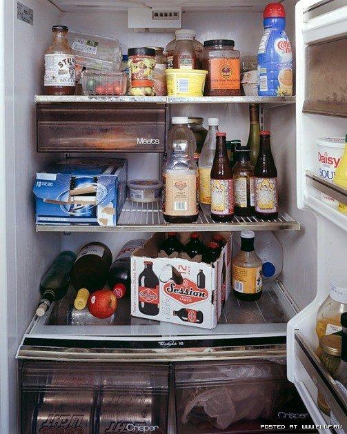 Угловой холодильник 5