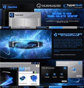 Hyperdesk DarkMatter - Subspace