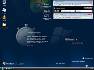 Windows 7 Themes For XP