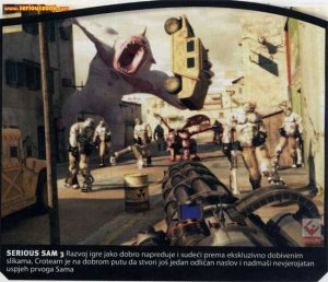 Croteam продолжает работать над Serious Sam 3