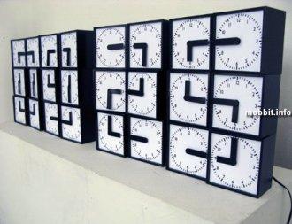 Целых 24 циферблата, чтобы просто узнать время! (+видео)