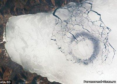 Странные круги на Байкале