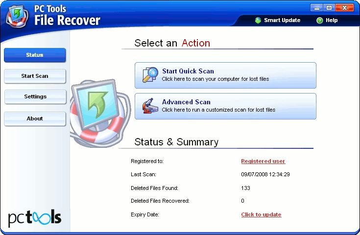 Search on site License no recover my file v5 1 0.