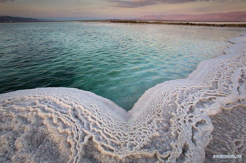 Красивые фото Мертвого моря.