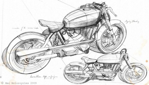 Кастом мотоциклы Mac Motorcycles