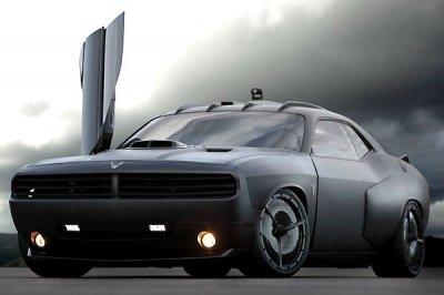 Американские военные представили земные истребители X-1 и Vapor на базе Ford Mustang и Dodge Challenger