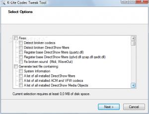 K-Lite Codec Tweak Tool 2.60