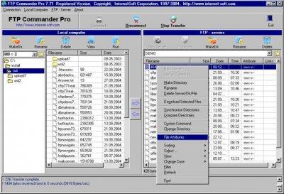 FTP Commander Deluxe 9.20