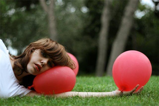 Мыльные пузыри и воздушные шарики