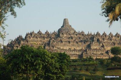 Боробудур - храм без интерьера