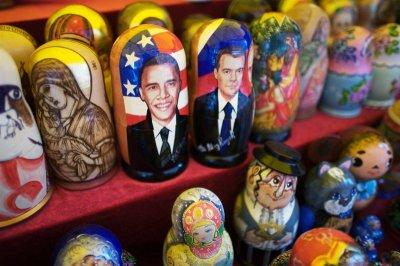 Барак Обама в Москве