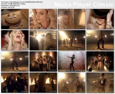 Britney Spears - Circus DVDRIP[x264] 2008