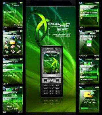 Themes Creator- Создание тем для Sony Ericsson