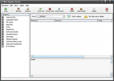 Wise Registry Cleaner 4.73