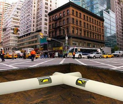Курьер будущего – это Городской крот