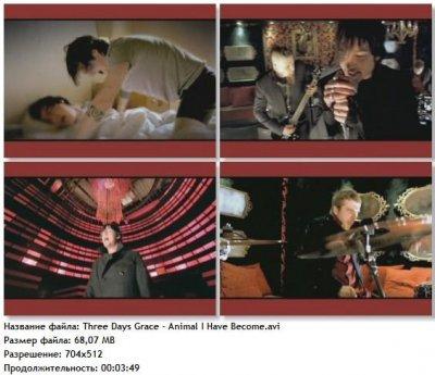 Видео клип Three Days Grace - Animal I Have Become