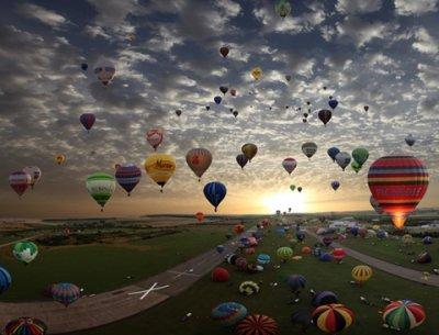 Фестиваль воздушных шаров во Франции — 2009 (20 фото)