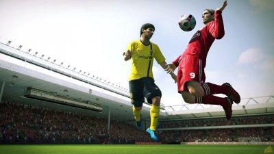 Gameplay Pro Evolution Soccer 2010