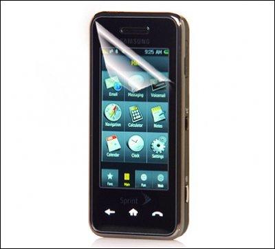 Samsung Instinct HD: смартфон с возможностью трансляции HD-видео