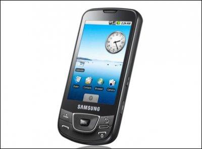 Компания Samsung представила в России «гуглофон» i7500