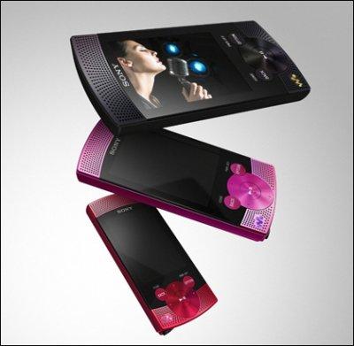 Sony Walkman S и E: серии портативных медиаплееров с 8 и 16 Гб флеш-памяти