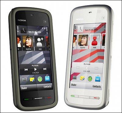 Nokia 5230: доступный смартфон с сенсорным экраном (+видео)