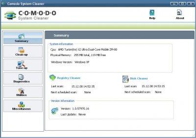COMODO System Cleaner 2.0.107697.4