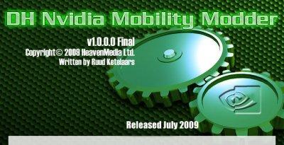 DH Mobility Modder - утилита для создания мобильного драйвера