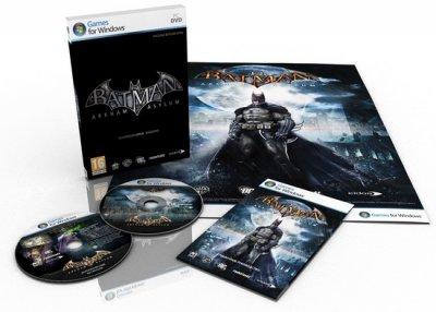 Коллекционное РС-издание Batman: Arkham Asylum для России