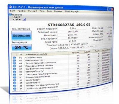 CrystalDiskInfo 3.00 RC6 RuS Portable