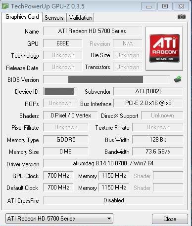 ATI Radeon HD 5750: первые фотографии и тесты