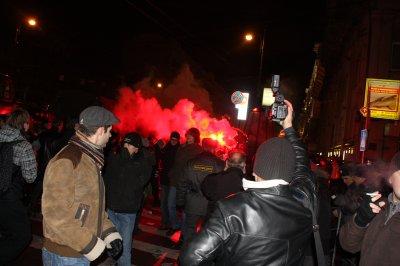 В Москве задержали 50 участников несанкционированного митинга