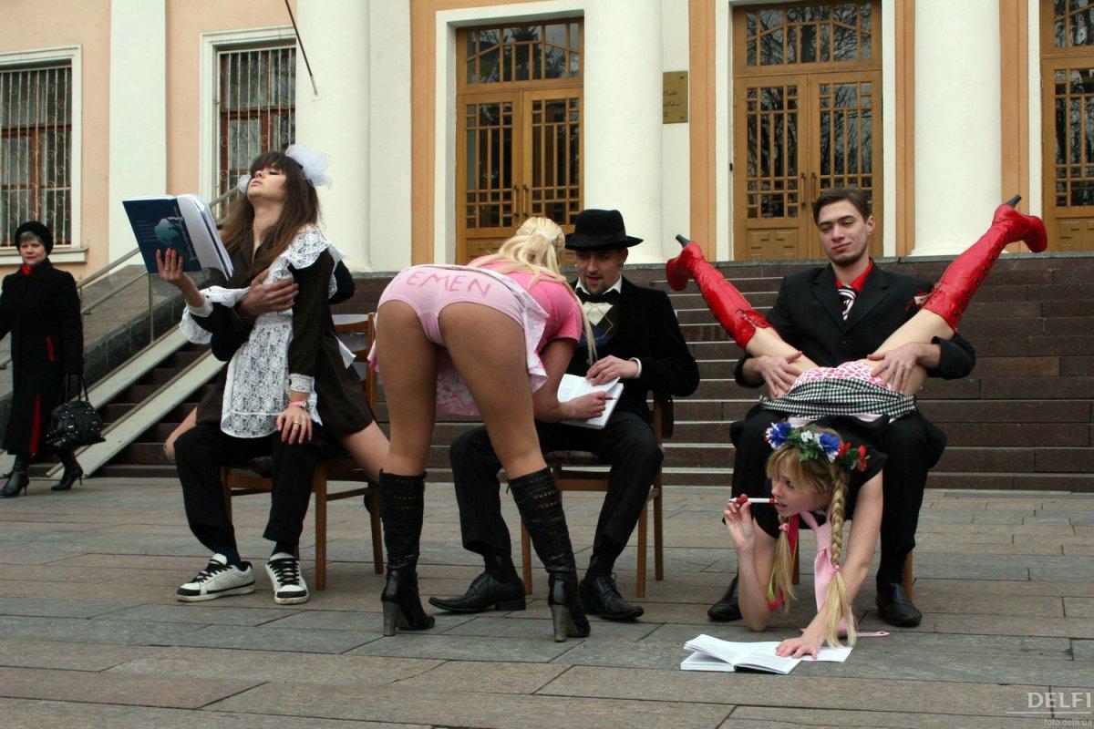 Очкань политическая проститутка