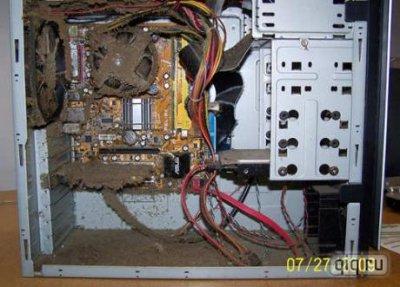 Пыль в компьютерах:до чего можно дойти без уборки